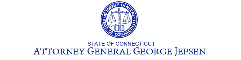 Press Realease Header of the Attorney General of Connecticut