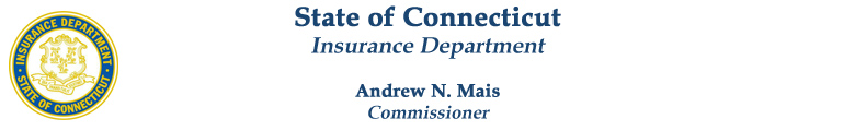State of Connecticut - Insurance Department