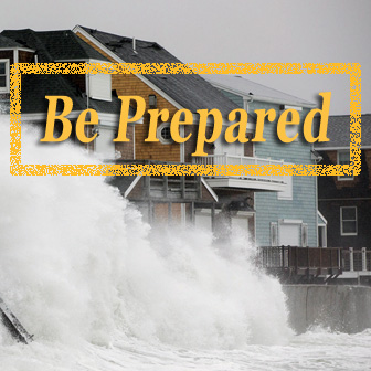 Be prepared - Hurricane season
