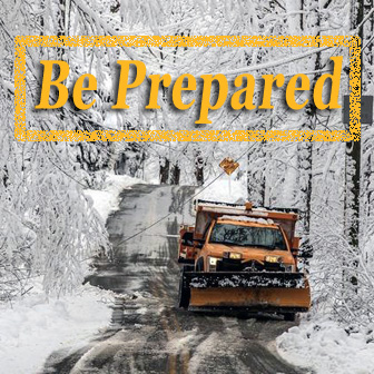 Be Prepared for Winter Storm