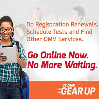 DMV's Online Serivces: Go online now. No more waiting.