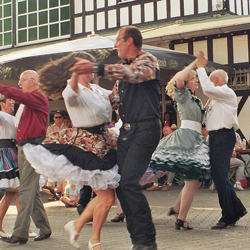 The State Folk Dance - Square Dance