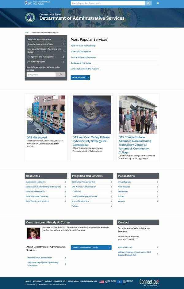 DAS Website Preview