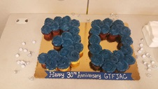 30th Anniversary Cupcakes