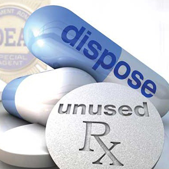 Dispose of unused prescriptions