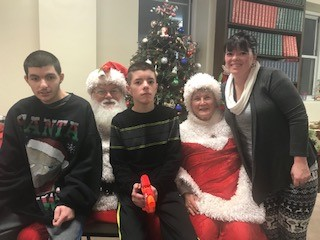 The Amato/Mathena family- Kyle, Logan & Crystal