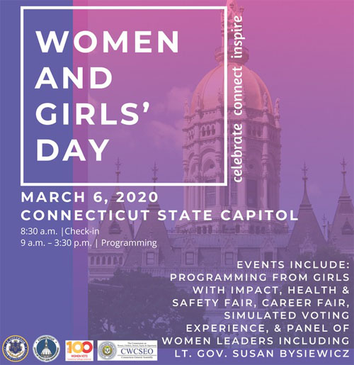 Women and Girls' Day at the Connecticut State Capitol