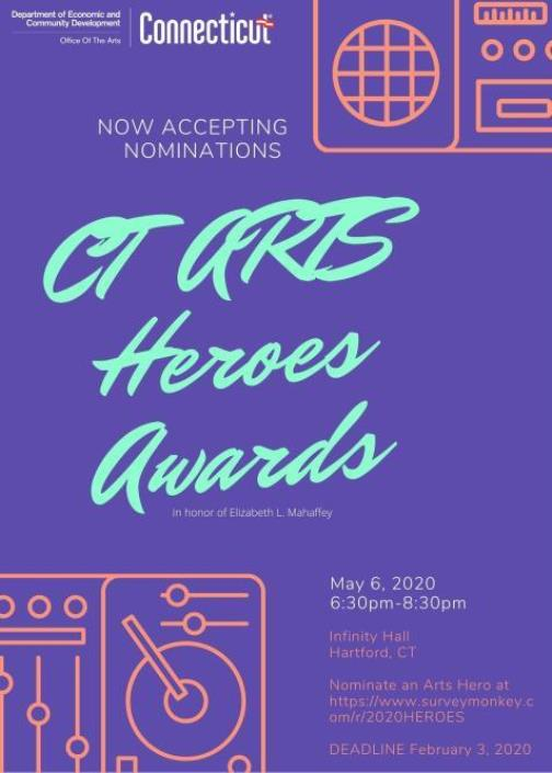 Nominate A Hero in the Arts