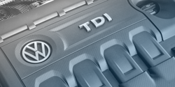 Picture of VW TDI Engine