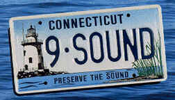 Long Island Sound license plate