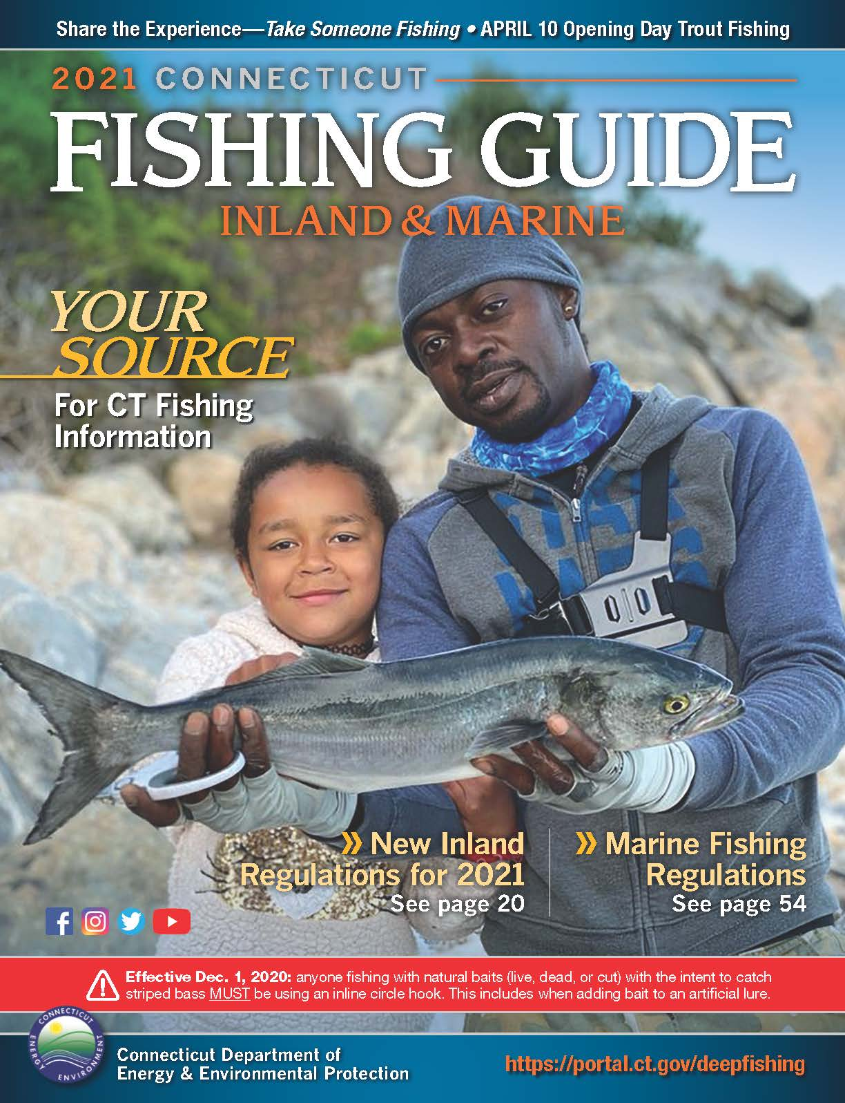 2021 fishing guide cover