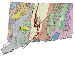 bedrock geologic map of connecticut Statewide Geologic Maps bedrock geologic map of connecticut