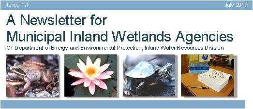 Newsletter for Municipal Inland Wetlands Agencies logo