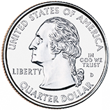 Connecticut Quarter Obverse