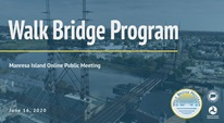 Walk Bridge Program VPIM June 16, 2020 Graphic