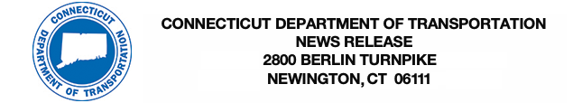 Department of Transportation Logo and News Release Header