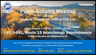 I-91/I-691/ROUTE 15 INTERCHANGE IMPROVEMENTS STATE PROJECT #0079-0240/245/246