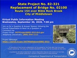 REPLACEMENT OF BRIDGE NO. 02100 STATE PROJECT #0082-0321