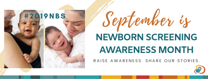 Picture of babies and Newborn Screening Awareness Month Announcement