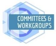 Committees & Workgroups page