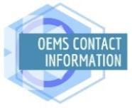 OEMS Contact Information page