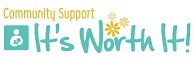 It's Worth It!  Community Support Logo