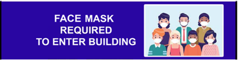 DSS Office mask notice
