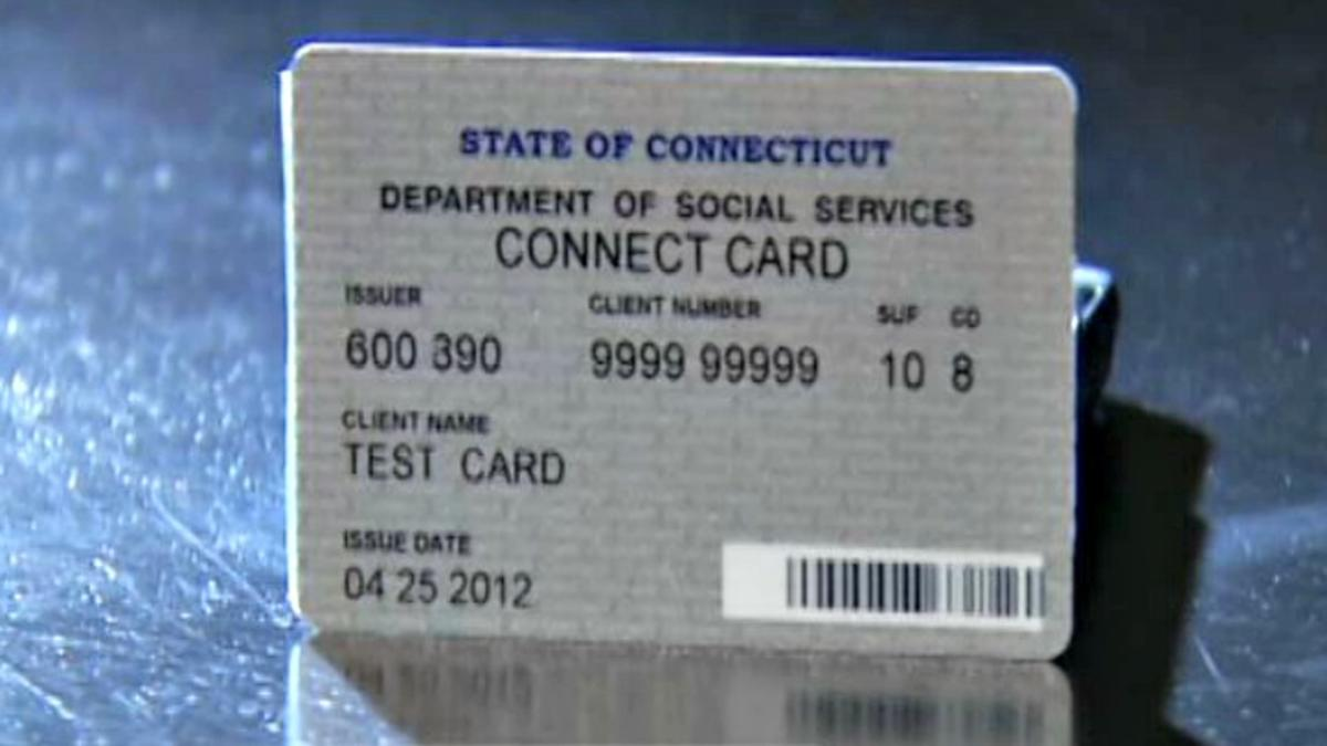 ConneCT EBT card