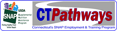 SNAP employment and training logo.
