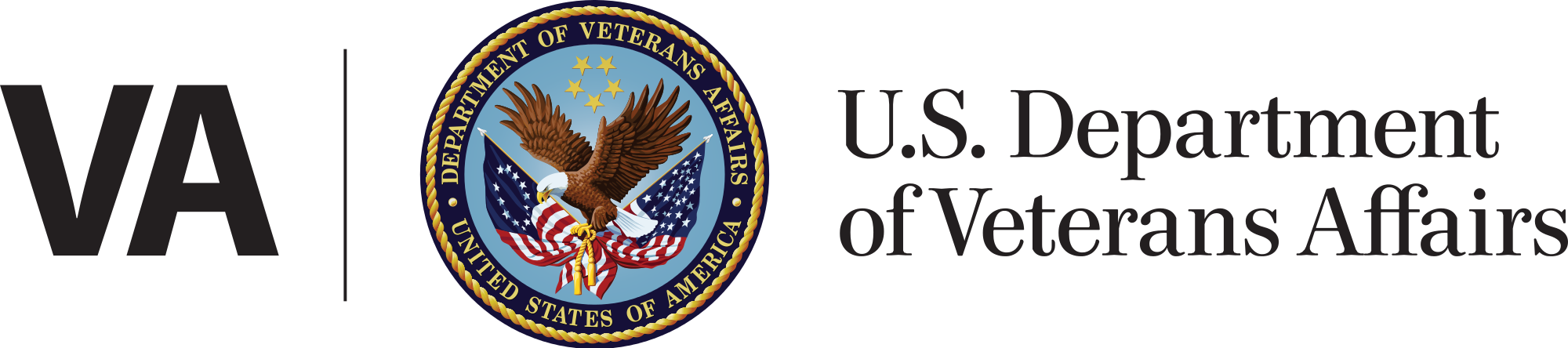 US VA Logo with text