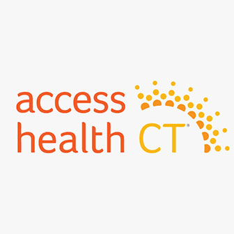Access Health logo.