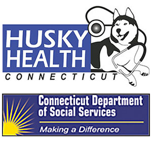 HUSKY and DSS logos.