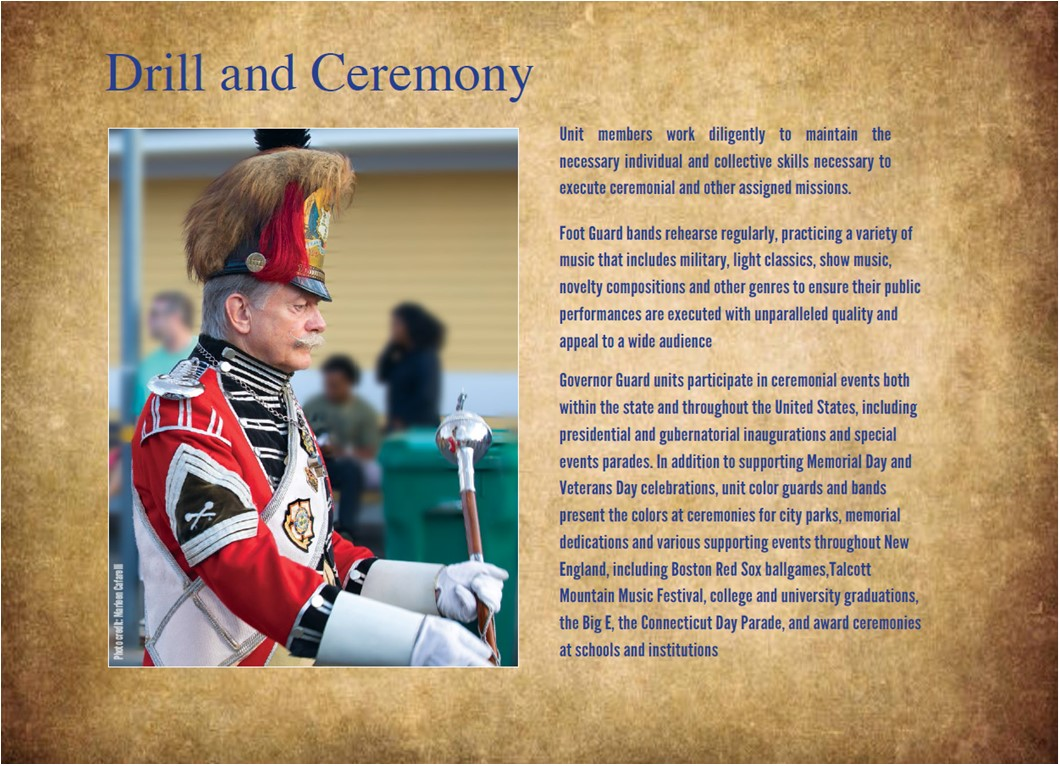 Overview of Drill and Ceremony