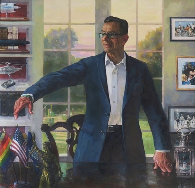 Official state portrait of Governor Dannel P. Malloy