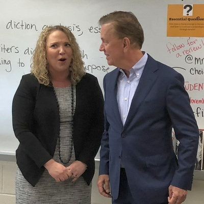 Governor Lamont announces 2020 Teacher of the Year