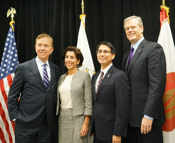 Governor Lamont meets with Governor Raimondo and Governor Baker in Providence