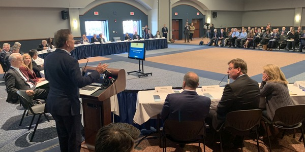 Meeting of the Governor's Workforce Council at Southern Connecticut State University