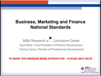 Webinar screenshot