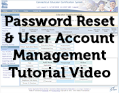 Password Reset and User Account Management Tutorial Video Thumbnail