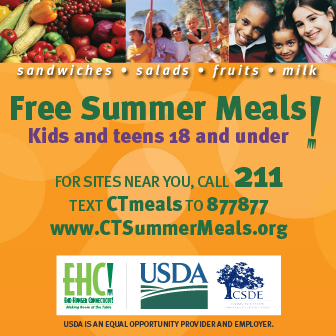 Free Summer Meals!, Kids and teens 18 and under