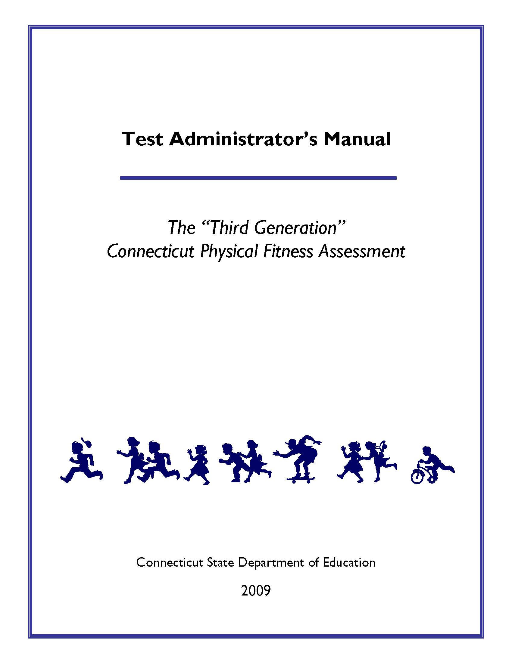 Fitness Assessment Test Administrator's Manual Cover