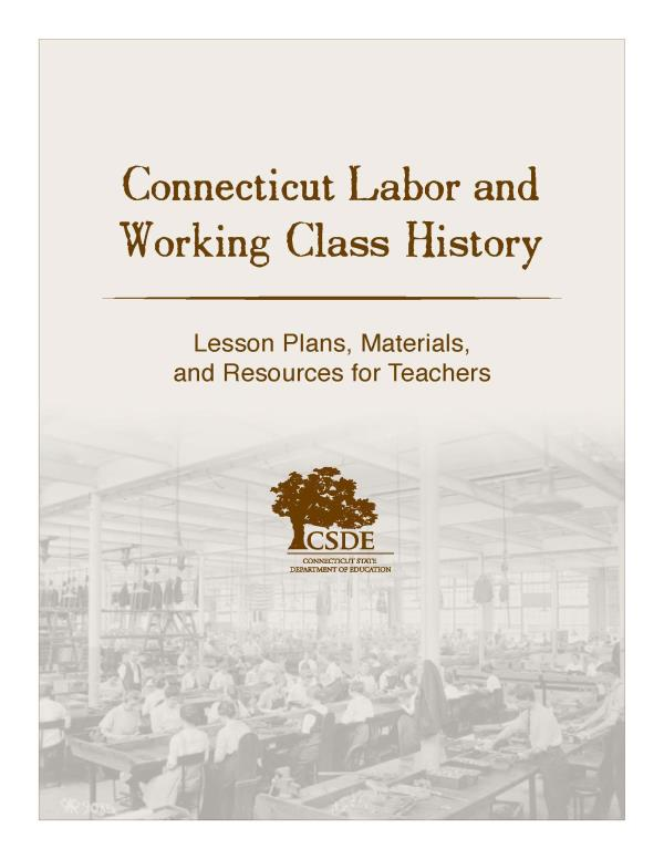 Connecticut Labor and Working Class History
