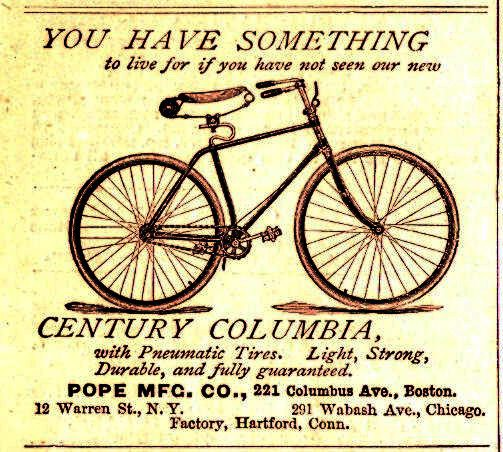 Columbia Bicycle poster