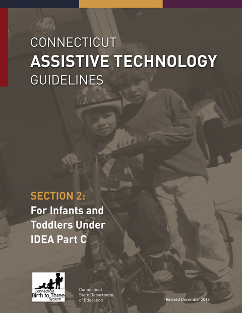 Assitive Technology Guidelines for Infants and Toddlers under IDEA Part C cover
