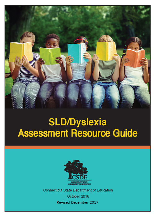 SLD/Dyslexia Assessment Resource Guide cover