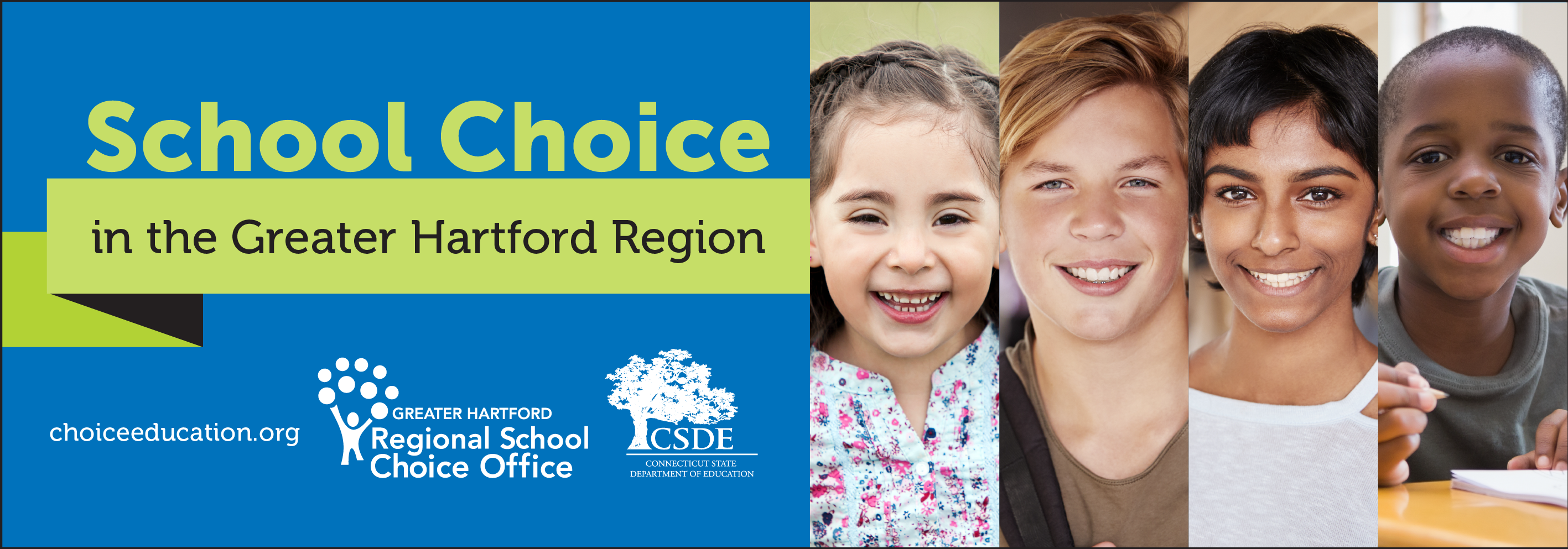 RCSO school choice banner for 2020