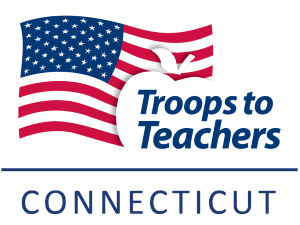 Connecticut Troops to Teachers Logo