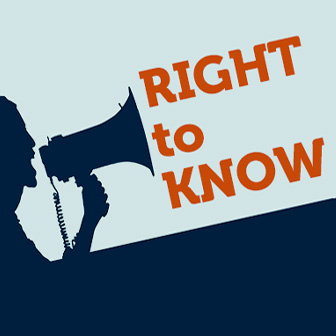 Right to Know graphic