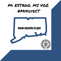 myvote.ct.gov Spanish placard