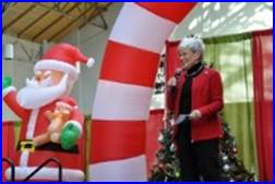 Lt. Governor Wyman Speaking at Operation Elf Kickoff